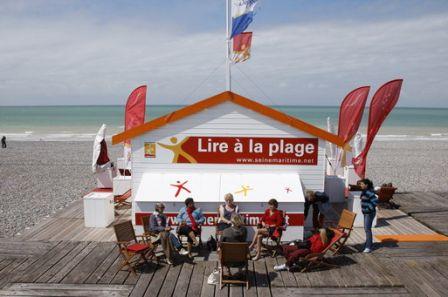 Le Festival Lire à la plage