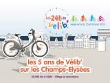 Les 24 heures du Vélib' à Paris