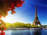 La Tour Eiffel et la Seine