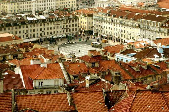 Se balader dans le quartier de Baixa