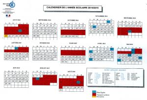 dates vacances scolaires 2014-2015 mayotte